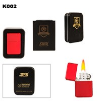 Red Brass Oil Lighter K002