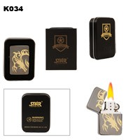 Dragon Design Brass Oil Lighter K034