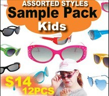 Wholesale Kids Sunglasses Sample Pack  SPK1