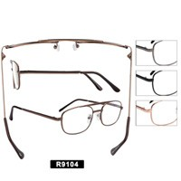 Wholesale Metal Reading Glasses R9104