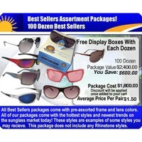 100 Dozen Sunglasses Sample Pack  SPA10