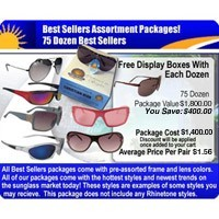 75 Dozen Sunglasses Sample Pack  SPA9
